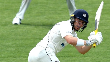 Harris boosts Test case with vital half-century
