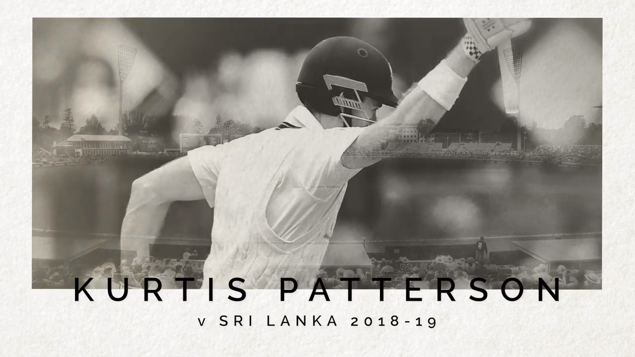 Kurtis Patterson remembers his maiden Test century