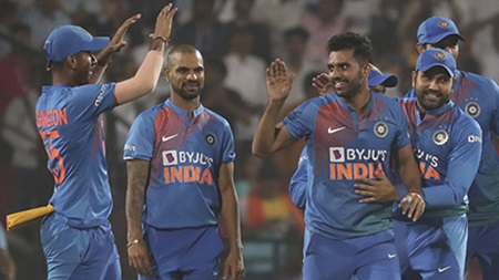 Hat-trick seals best-ever T20 figures as India win