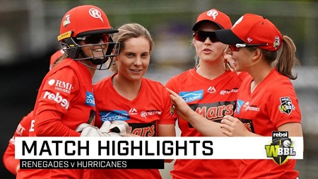Spinners star as Renegades thump 'Canes
