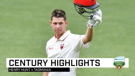 Hunting season: Rookie opener posts maiden Shield century