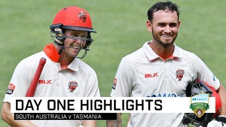 Weatherald, Hunt punish Tasmania with historic stand