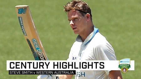 Prolific Smith scores his slowest first-class century
