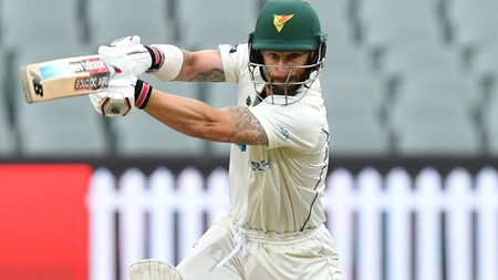 Wade steels himself for Test summer with dogged fifty