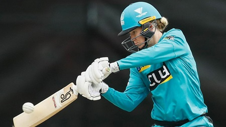 Green scores breakthrough WBBL fifty