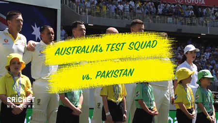 Australia name 14-man squad for first two Domain Tests