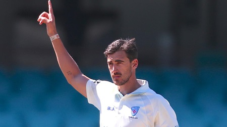 Starc wreaks havoc in final Test tune-up
