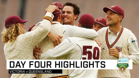 Queensland clinch last-gasp win over Vics