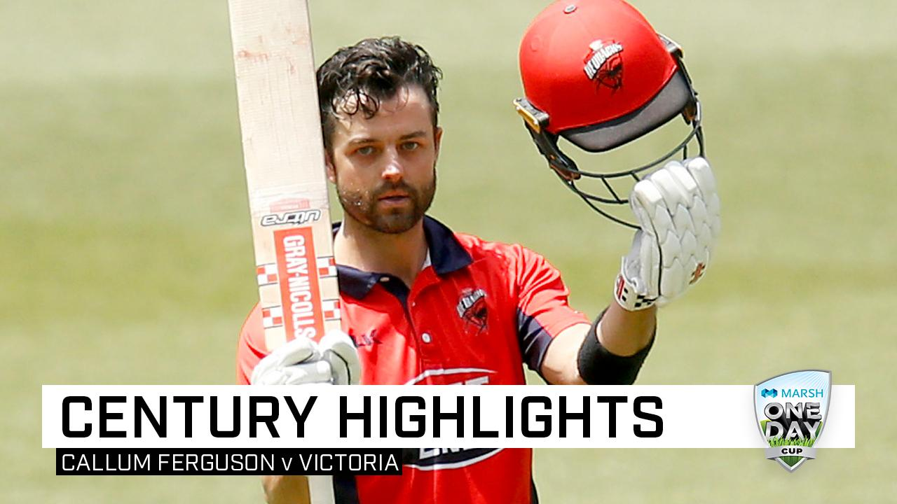 Ferguson eclipses Lehmann, hits second ton in three days
