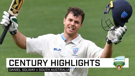 Blues debutant hits unbeaten 133 in first Sheffield Shield knock