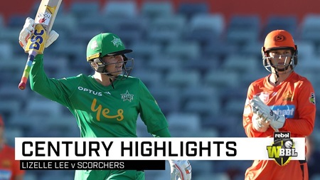 Lee powers her way to first century of WBBL|05