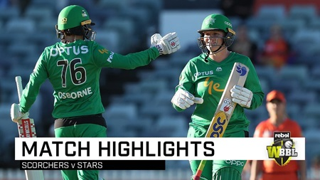 Lee's second WBBL hundred powers Stars to victory