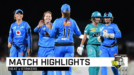 Strikers on top after dousing the Heat