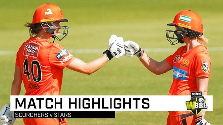 Scorchers cruise back into WBBL top four