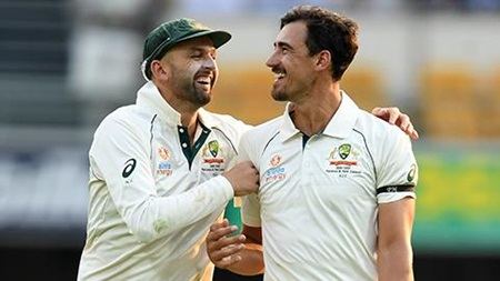 Debutant narrowly survives Starc's hat-trick ball