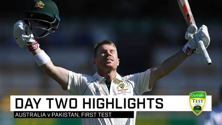 Warner punishes Pakistan as Aussie bats pile up the runs