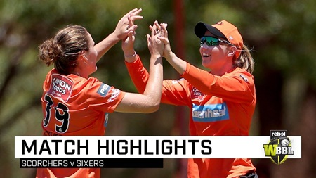 Scorchers stun Sixers in Lilac Hill