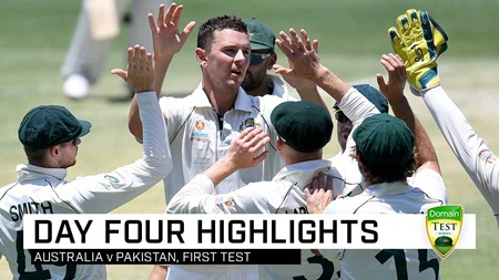 Hazlewood leads way as Aussies wrap up innings win