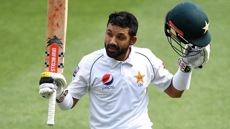 Rizwan's defiant hand ends five short of maiden ton