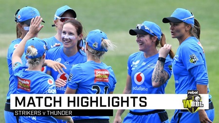 Strikers break Thunder hearts in Super Over thriller