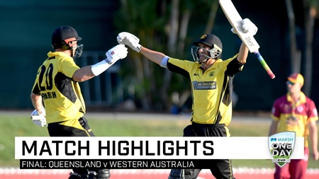 Magnificent Marsh leads WA to Marsh Cup title triumph