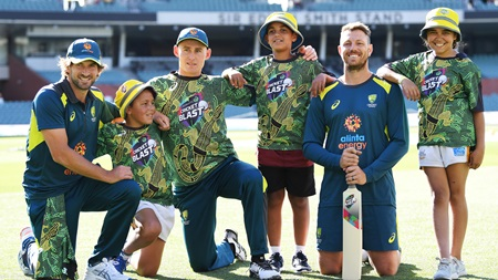 Indigenous shirts debut for Cricket Blast juniors