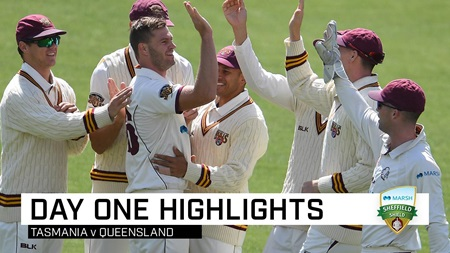Bulls take upper hand as 14 day-one wickets tumble