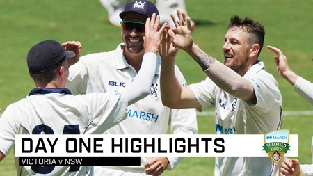 Pattinson, Siddle shine for Vics as Blues dig in