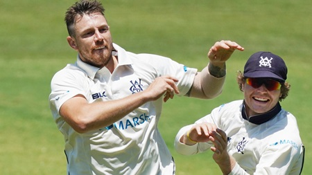 Siddle genius hands Pattinson wicket before lunch