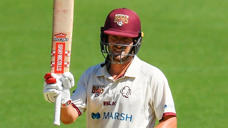 Burns pushes for Test recall with Shield half-century