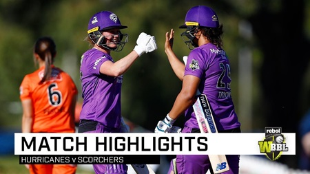 Hurricanes blow away Scorchers in Perth