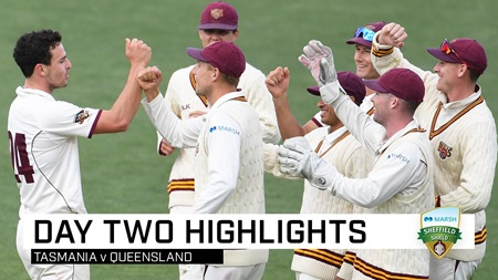 Queensland complete Tasmania thrashing inside two days
