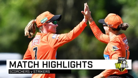 Scorchers snatch final-ball victory over Strikers