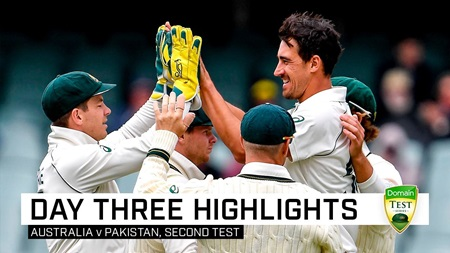 Aussies close in on clean sweep after Yasir century
