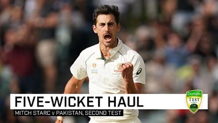 Starc rips through Pakistan with six-wicket haul