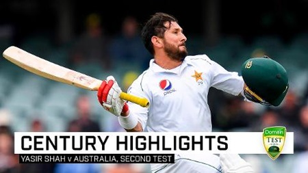 Yasir stuns Australia with defiant maiden Test hundred