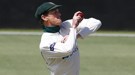 Bailey finishes his first-class career… bowling