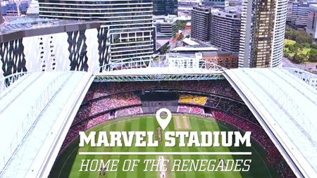 Anything can happen under the Marvel Stadium roof