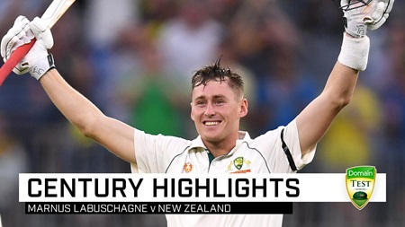 Marnus' mighty summer continues with ton against NZ