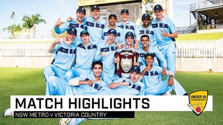 NSW Metro win Under 19 National Championships
