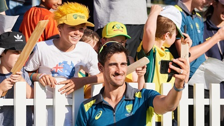 Starc reveals his biggest role models growing up