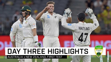 Aussies collapse under lights but hold dominant position