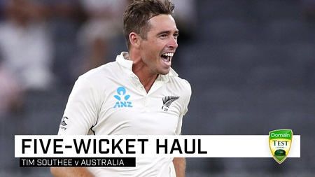 Southee toils in scorching heat to take five