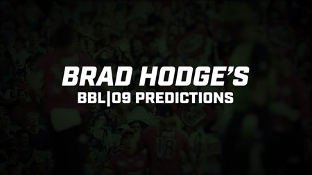 Big Bash great Brad Hodge reveals BBL|09 predictions