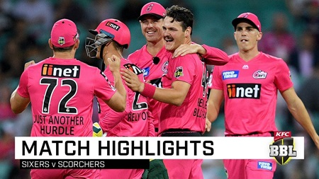 Clinical Sixers smash the Scorchers at SCG