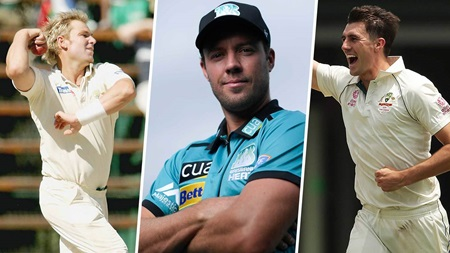 De Villiers names the five best bowlers he's faced