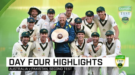 Australia complete clean sweep after Lyon's five-wicket haul