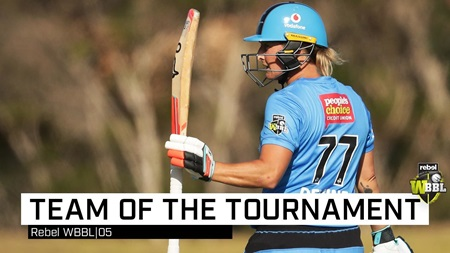 Revealed: WBBL team of the tournament
