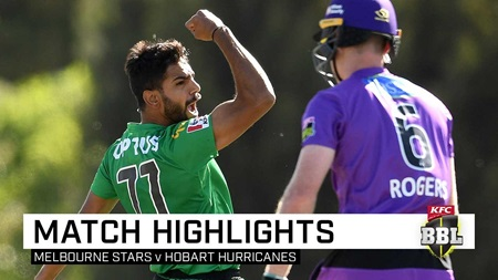Rauf, Stoinis to the fore as Stars overpower Hurricanes