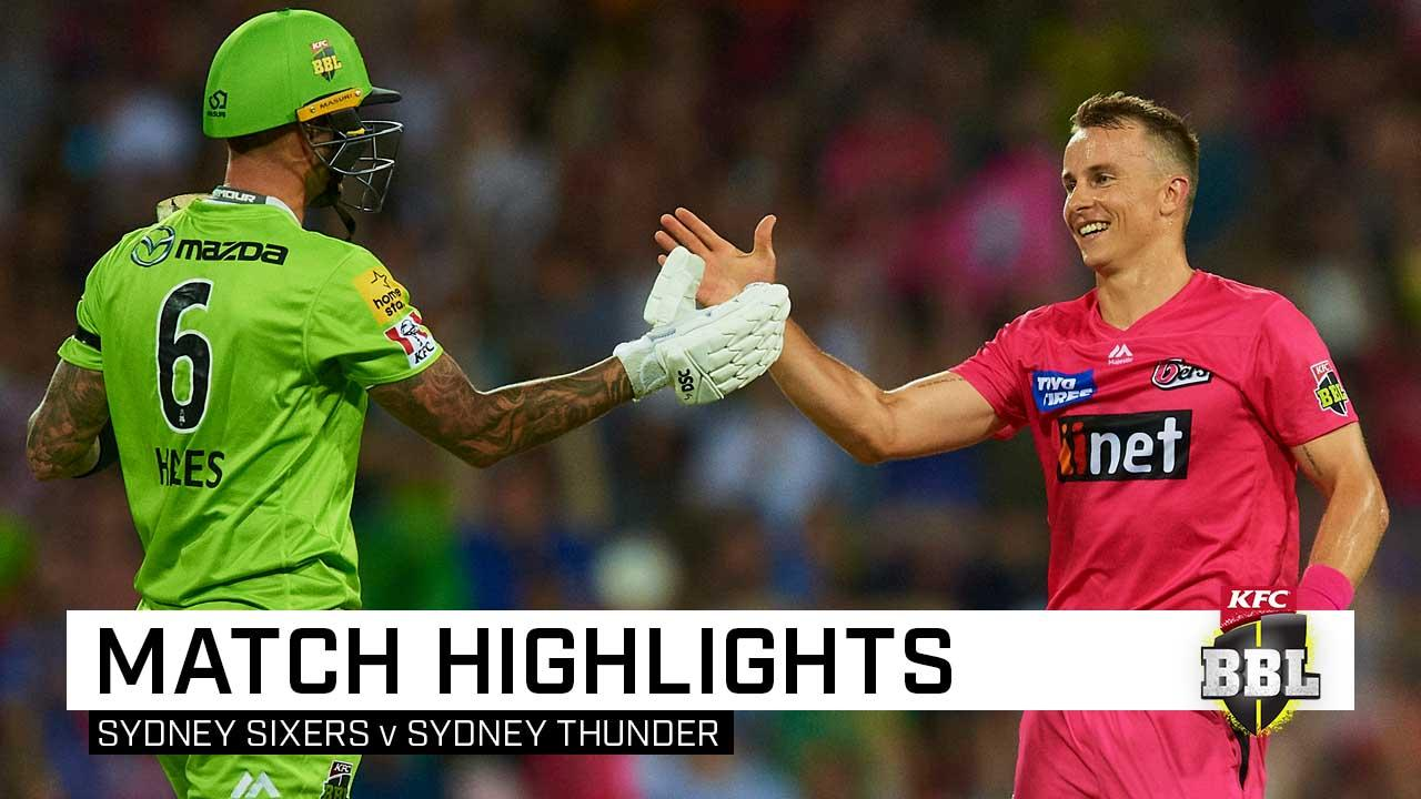 Sixers claim Sydney Smash after dramatic Super Over